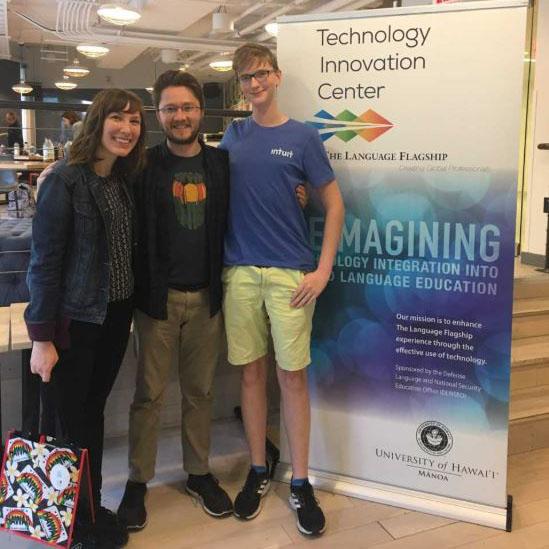hackathon students