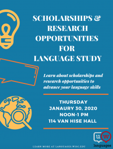 Scholarships & Research Opportunities for Language Study