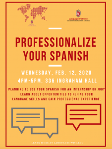 Professionalize Your Spanish