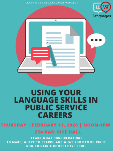 Using Your Language Skills in Public Service Careers